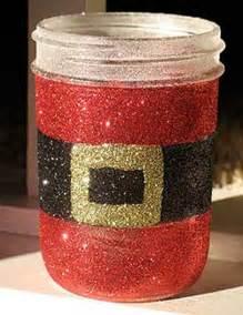 DIY Mason Jars Crafts Christmas Santa