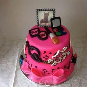 Teenage girl's favorite things birthday cake | Cakes I've ...