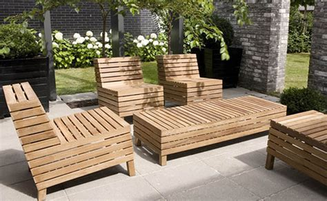 Wooden Outdoor Furniture by 30 Rustic Outdoor Design For Your Home The Wow Style