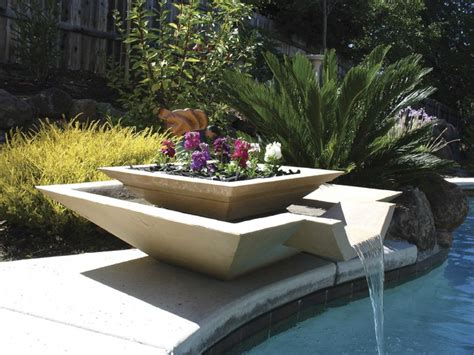 triyae contemporary backyard fountains various