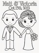 Coloring Pages Printable Sheets Bride Sheet Groom Activity Weddings Couple Books Bridal Cake Colouring Adult Barbie Template Anniversary Pdf Hand sketch template