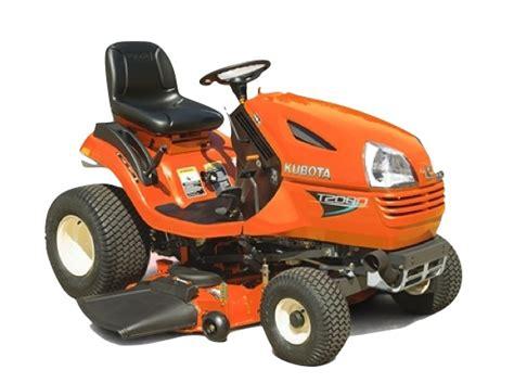 kubota garden tractor kubota lawn tractors review