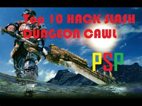 Top 10 Hack Slash / Arpg / Dungeon Crawl Type Game Psp