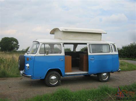vw camper van bay window type   cc air cooled
