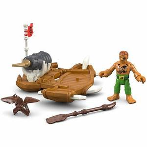 Imaginext Captain Kidd and Surf Board - Walmart.com