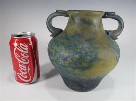 antique daum nancy pate de verre vase