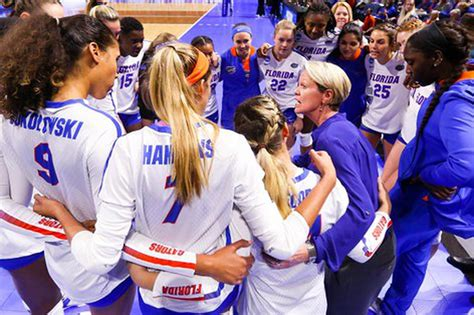 Chomping At Bits Florida Volleyball Faces Stanford In
