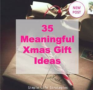 35 Meaningful Xmas Gift Ideas