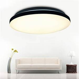 Dimmable led round ceiling light suspended recessed