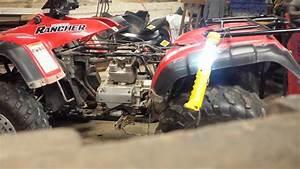 2000 Honda Rancher 350 Engine Removal Part 3