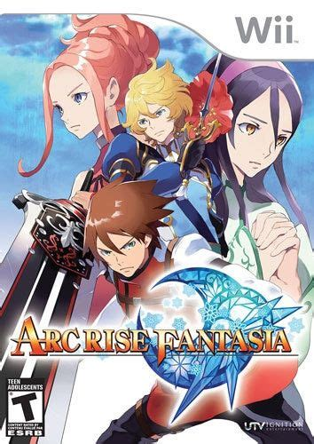 arc rise fantasia wii game   wii games wii