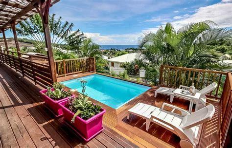cuisiner pour amoureux location vacances avec piscine en martinique i villa
