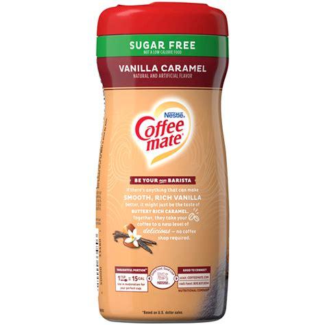 Coffee mate original flavor coffee creamer is a classic rich, velvety smooth creamer. COFFEE MATE Sugar Free Vanilla Caramel Powder Coffee ...