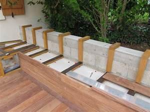 Banquette Bois Exterieur : cr er un banc dans ma terrasse en bois exotique pinterest bois ~ Farleysfitness.com Idées de Décoration
