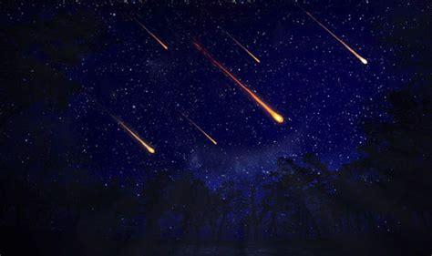 uk set  stunning meteor shower  earth passes