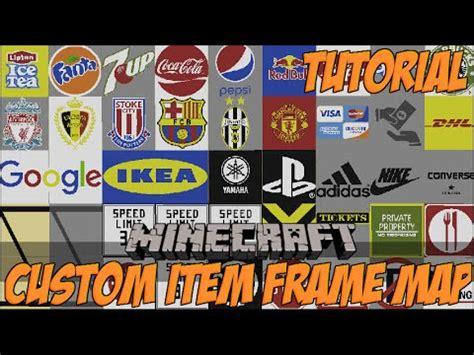 Minecraft Custom Item Frame Map Repository + Installation