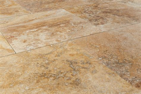 kesir travertine tiles honed and filled oasis gold