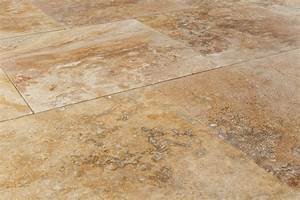 Kesir Travertine Tiles - Honed and Filled Oasis Gold ...