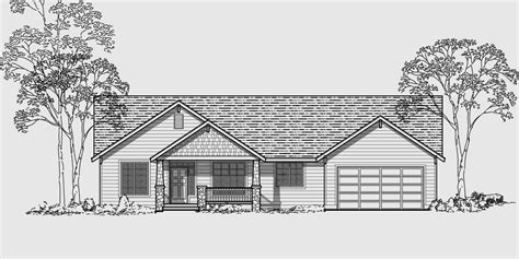 4 bedroom ranch style house plans single level house plans for simple living homes