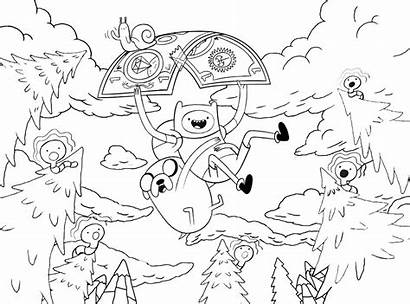Adventure Coloring Pages Characters Cartoon Sheets Bestcoloringpagesforkids
