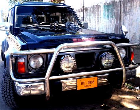 nissan patrol 1990 nissan patrol 1990 of rezvan member ride 15094 pakwheels