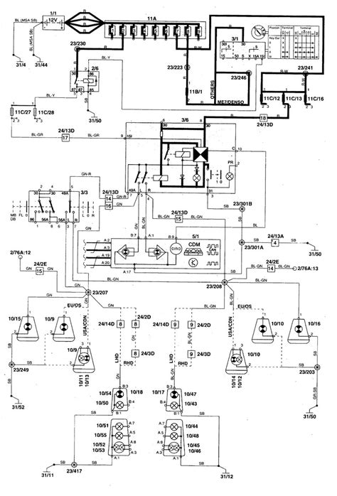 1998 volvo s90 engine diagram wiring library