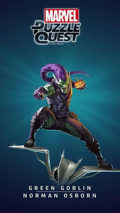 Goblin Marvel Puzzle Quest Heroes Comic Osborn