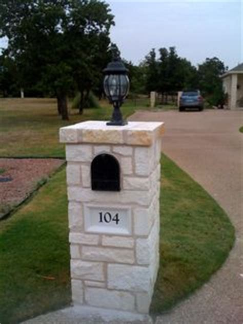 brick l post designs 1000 images about stone work on pinterest stone mailbox