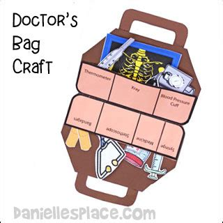 doctor and crafts and learning activities for children 128   doctor bag craft inside pic