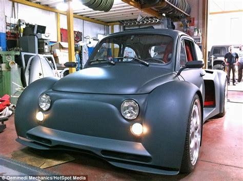 fiat transformed  mph supercar