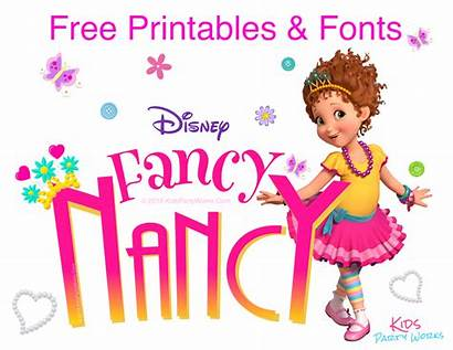 Nancy Fancy Birthday Ooh Sofia Fonts Princess