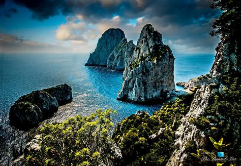 Beautiful Isle Of Capri Italy Walk ~ Pov Ocean Shops