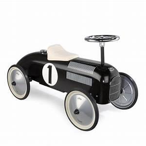 Voiture Enfant Vintage : leo bella vilac classic retro ride on metal car black ~ Teatrodelosmanantiales.com Idées de Décoration