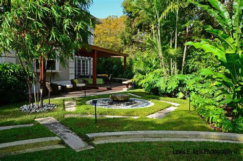 zesty zen tropical landscape miami by bell