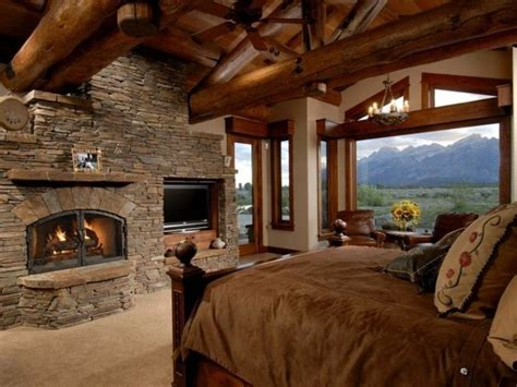 log homes interior designs bedroom country house style 33 exles of rustic