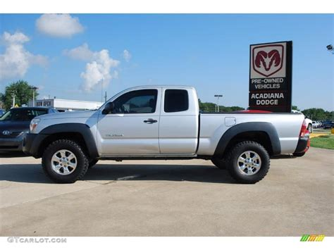 2005 Tacoma Prerunner by 2005 Silver Streak Mica Toyota Tacoma Prerunner Access Cab