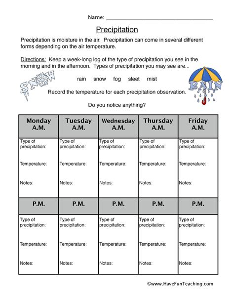 weather worksheets for fourth graders weather best free