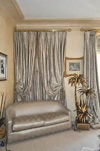 Tissus Pour Double Rideaux : canap art d co double rideaux et voilages atelier secrea ~ Melissatoandfro.com Idées de Décoration