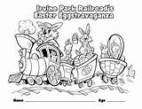 Coloring Pages Park Children Wheelchair Railroad Irvine Easter Train Christmas Grade 4th California Pavilion Template Irvineparkrailroad Eastercoloring Hires Special Rides sketch template