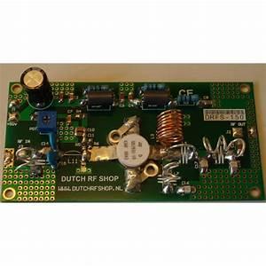Pcb Kit 150 Watt Vhf Amplifier   Lowpass Filter