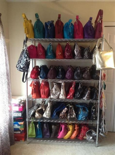 17 Best Images About Organizing  Purses On Pinterest