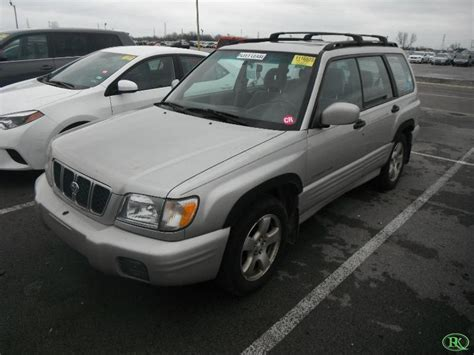 Forester Awd by 2001 Subaru Forester Awd S