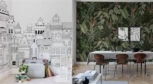 Tendance Papier Peint Couloir : papier peint tendances 2018 2019 couleurs motifs i blog ma maison beko ~ Melissatoandfro.com Idées de Décoration