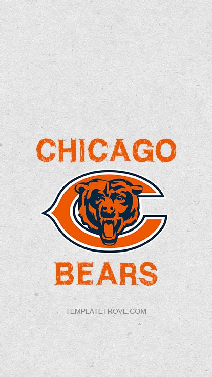 chicago bears lock screen schedule  iphone