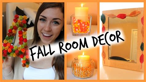 diy easy fall room decor ways to decorate