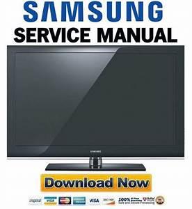 Samsung Ln40b530p7n Ln46b530p7n Service Manual  U0026 Repair