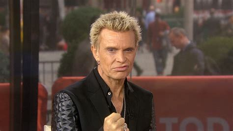 Billy Idol Shows Tamron How To Do His Famous Lip Curl