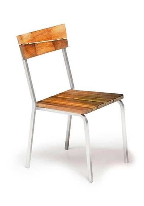 sedie da esterno in legno sedia da esterno in legno iroko e acciaio impilabile