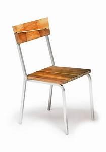 Bestes Holz Für Draussen : au en stuhl iroko holz und stahl stapelbar idfdesign ~ Whattoseeinmadrid.com Haus und Dekorationen