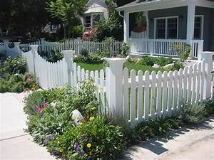 Stunning, Contemporary, Small, Picket, Fence, For, Garden, Picture, Furniture, Ideas